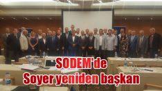 SODEM'de  Soyer yeniden başkan