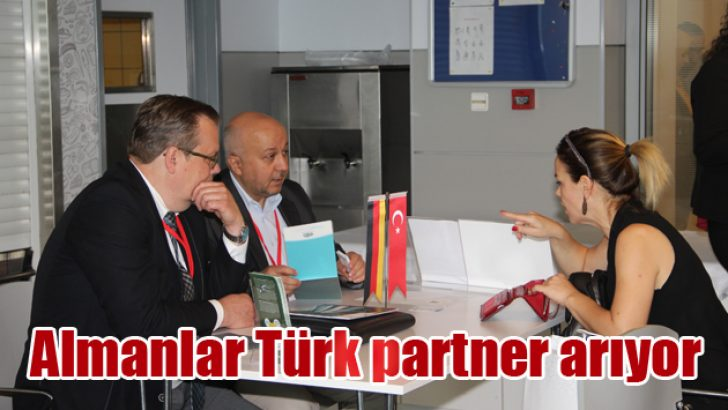 Almanlar Türk partner arıyor