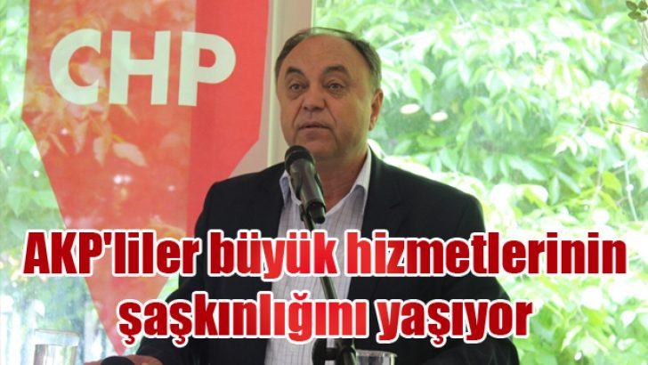 AKP'liler büyük hizmetlerinin şaşkınlığını yaşıyor