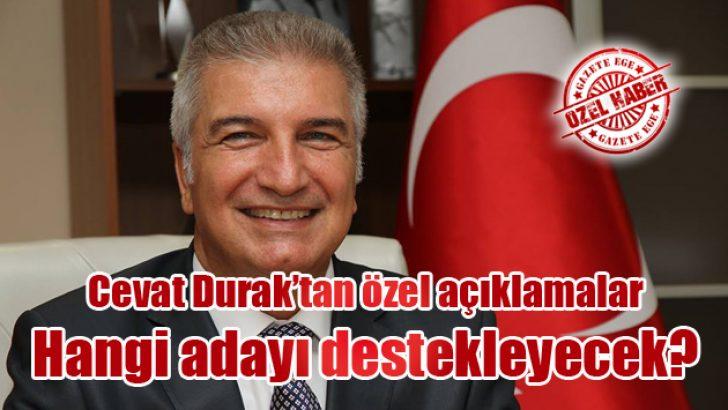 Cevat Durak'tan özel açıklamalar