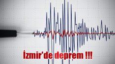 İzmir'de deprem !!!