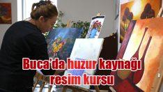 Buca'da huzur kaynağı resim kursu