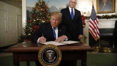 Ankara İçin Trump'ın 'Kudüs kararı' Yok Hükmünde