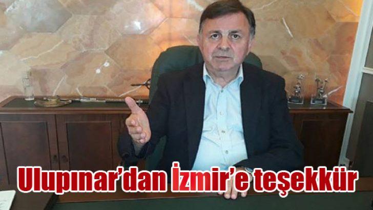 Ulupınar'dan İzmir'e teşekkür