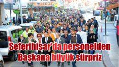 Seferihisar'da personelden Başkana büyük sürpriz