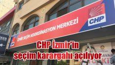 CHP İzmir'in seçim karargahı açılıyor