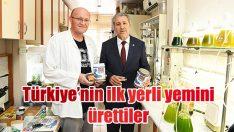 Türkiye'nin ilk yerli yemi Ege Üniversitesi'nden