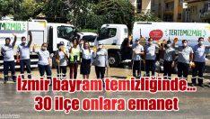 İzmir bayram temizliğinde