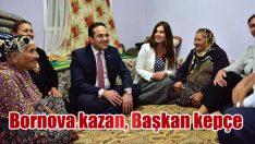 Bornova kazan, Başkan kepçe…