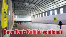 Buca Tenis Kulübü yenilendi