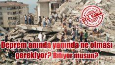 Deprem Çantası'nda neler var?