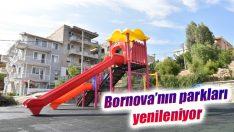 Bornova'nın parkları yenileniyor