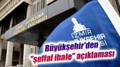 """Büyükşehir'den """"şeffaf ihale"""" açıklaması"""