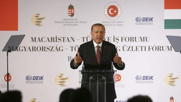 Erdoğan: Türk ekonomisini kimse çökertemeyecektir