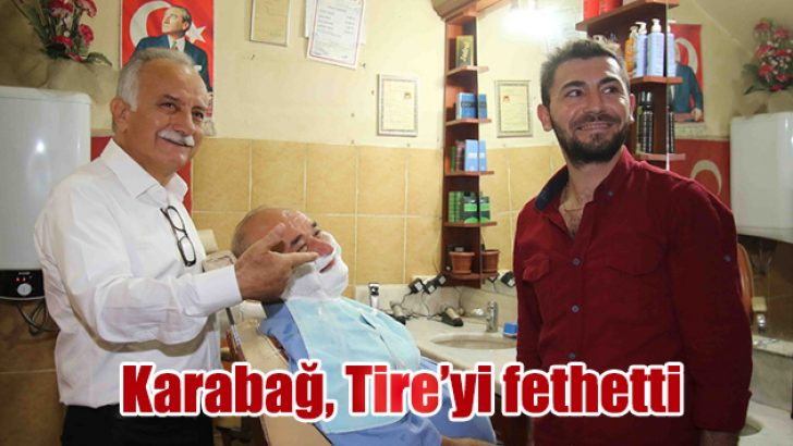 Başkan Karabağ, Tire'yi fethetti