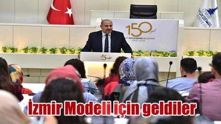 İzmir Modeli için geldiler