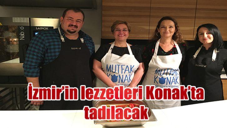 İzmir'in lezzetleri Konak'ta tadılacak