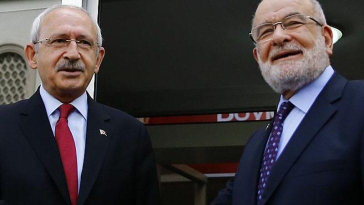 Kılıçdaroğlu ile Karamollaoğlu görüşmesi başladı