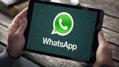 WhatsApp Android tabletlerde!