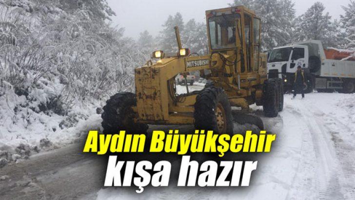 Aydın Büyükşehir kışa hazır