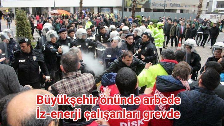 İzenerji işçileri gözaltına alındı
