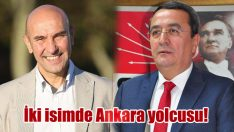 İki isimde Ankara yolcusu!