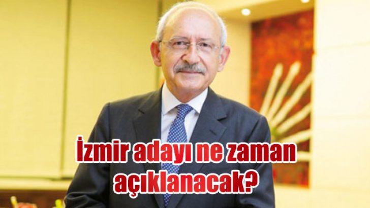 İzmir adayı ne zaman açıklanacak?