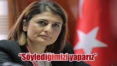 """Ak Partili Eroğlu: """"Söylediğimizi yaparız"""""""