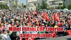 İzmir'de Kılıçdaroğlu'na yapılan saldırı kınandı