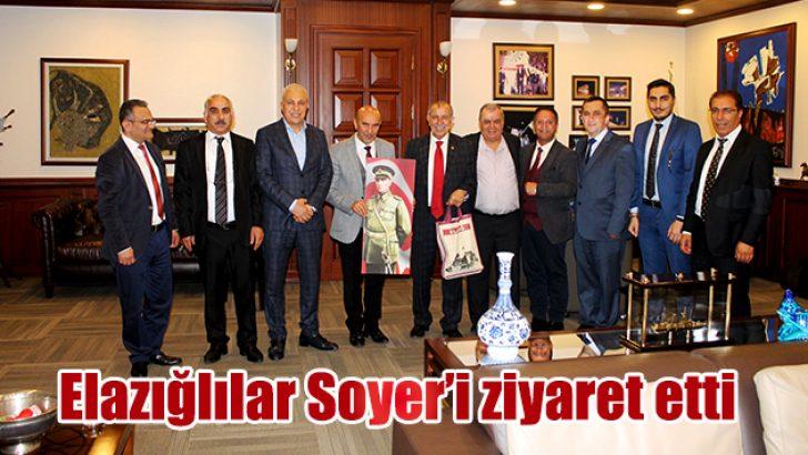 Elazığlılar Soyer'i ziyaret etti