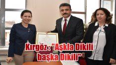 """Aşkla Dikili başka Dikili"""
