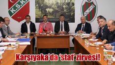 Karşıyaka'da 'stat' zirvesi!