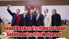 Genel Başkan Yardımcısı Kaya'dan Başkan Selvitopu'na tebrik ziyareti