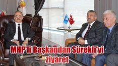 MHP'li Başkandan Sürekli'yi ziyaret