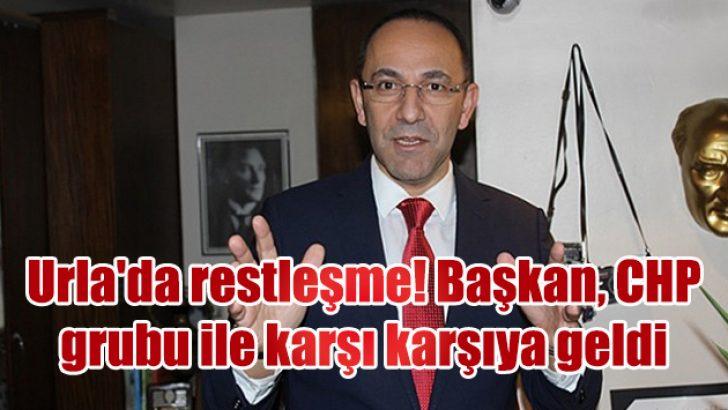 Urla'da restleşme! Başkan, CHP grubu ile karşı karşıya geldi