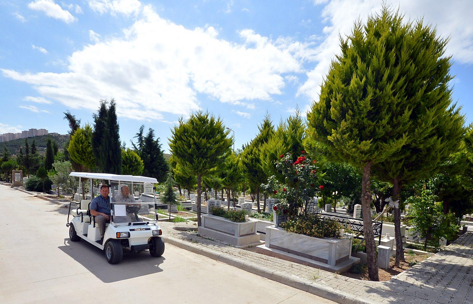 Mezarlıkta VIP hizmet