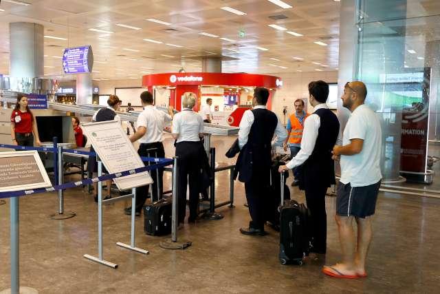 Facianın yaşandığı Atatürk Havalimanı'nda bu sabah