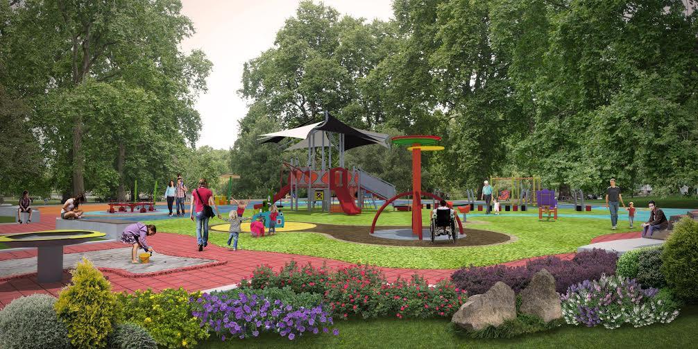 Bornova Büyük Park yenileniyor