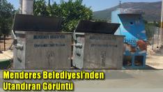 Menderes'te sokak hayvanları çöpe layık görüldü!