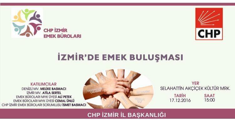 İzmir'de Emek Buluşması