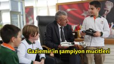 Gaziemir'in şampiyon mucitleri