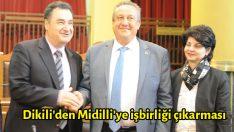Dikili'den Midilli'ye işbirliği çıkarması