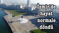İzmir'de hayat normale döndü