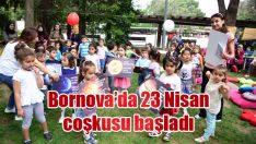 Bornova'da 23 Nisan coşkusu başladı