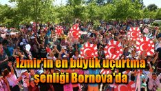 İzmir'in en büyük uçurtma şenliği Bornova'da