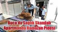 Ramazan pidesini garajda ürettiler