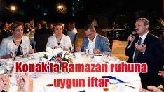 Konak'ta Ramazan'ın ruhuna uygun iftar