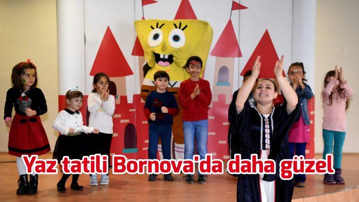 Bornova'da çocuklar çok şanslı