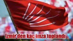İzmir'den kaç imza toplandı
