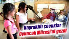 Bayraklılı çocuklar Oyuncak Müzesi'ni gezdi